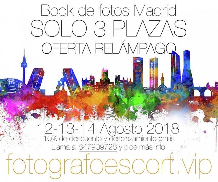 Fotógrafos eróticos para escorts en Madrid